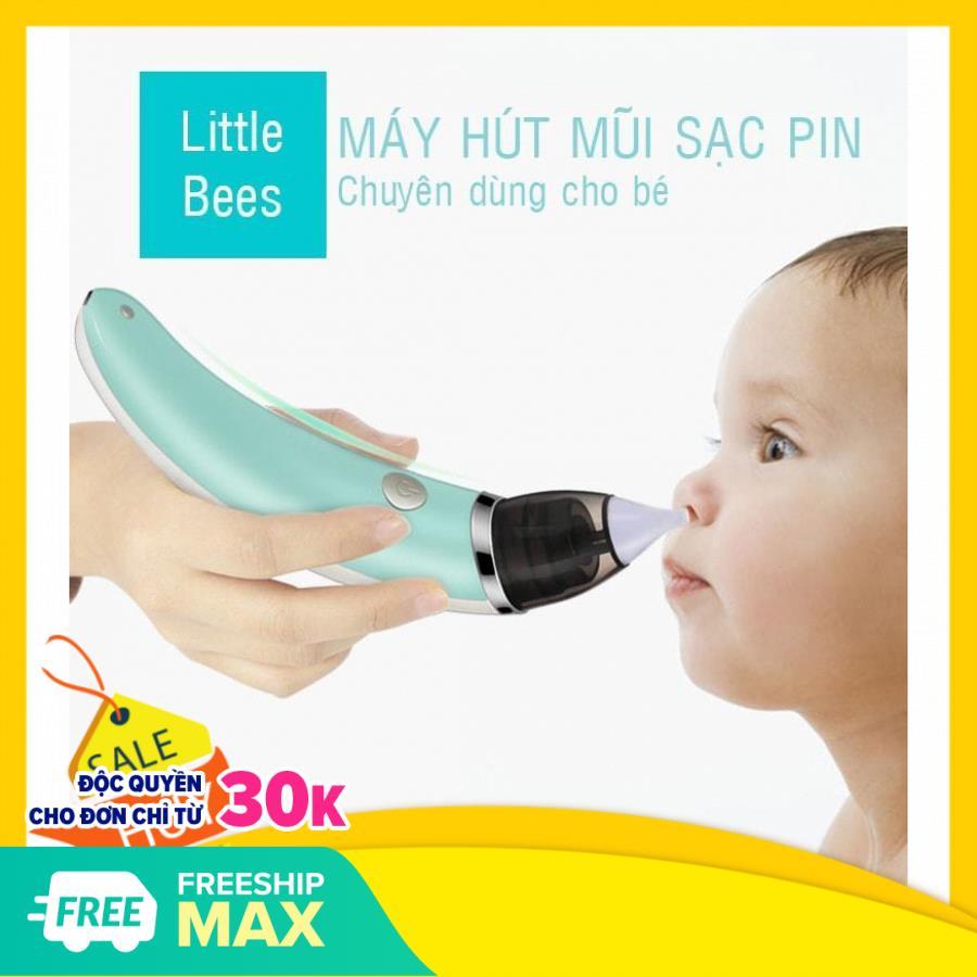 Máy hút mũi tự động cho bé, vệ sinh thông mũi tự động cho bé bi nghẹt, viêm