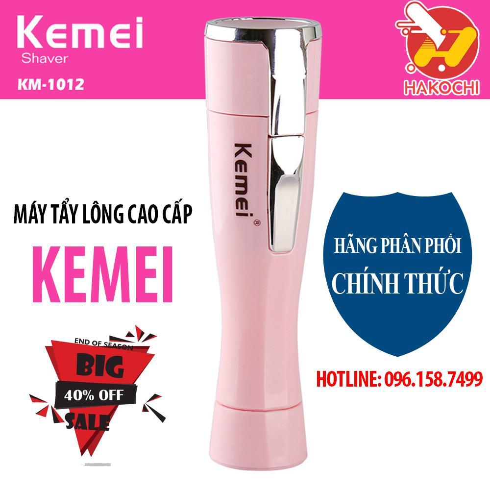 Máy tẩy lông Kemei 2019 - máy tẩy lông nách, máy tẩy lông mặt mini, máy tẩy lông cầm tay, máy cạo lông - [HAKOCHI] tốt nhất