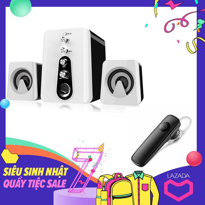 Bảng giá Bộ Loa Máy Tính 2.1 Âm Thanh 3D Shinco HC-807 + Tặng Tai Nghe Bluetooth kèm mic Phong Vũ
