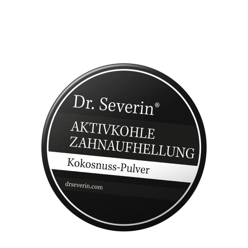 Bột than hoạt tính làm trắng răng tinh chế từ bột dừa Dr. Severin 60gr (Hàng nội địa Đức- Giải thưởng Chất lượng nước Đức- Kết quả tức thì))