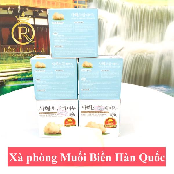 COMBO 5 Bánh Xà Phòng Muổi Biển Hàn Quốc tẩy tế bào lão hóa
