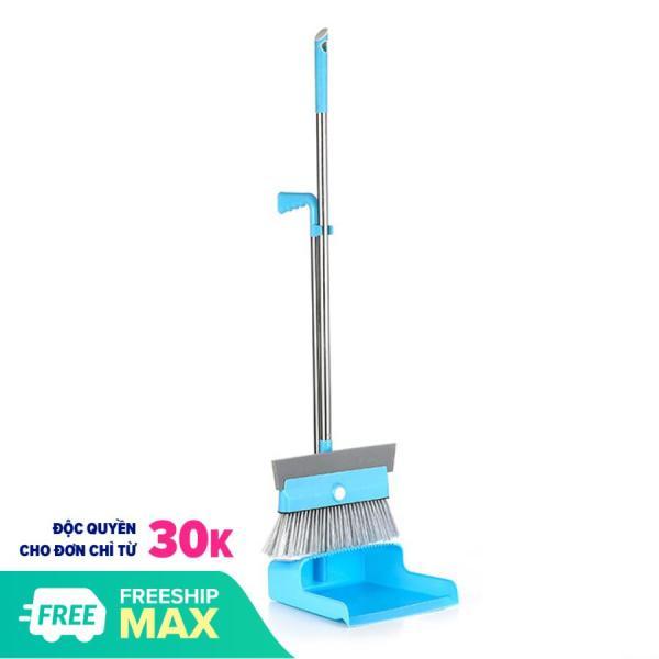 Bộ chổi quét nhà kèm hót rác nhựa, quét nhà tắm, quét bụi, quét nước đa năng