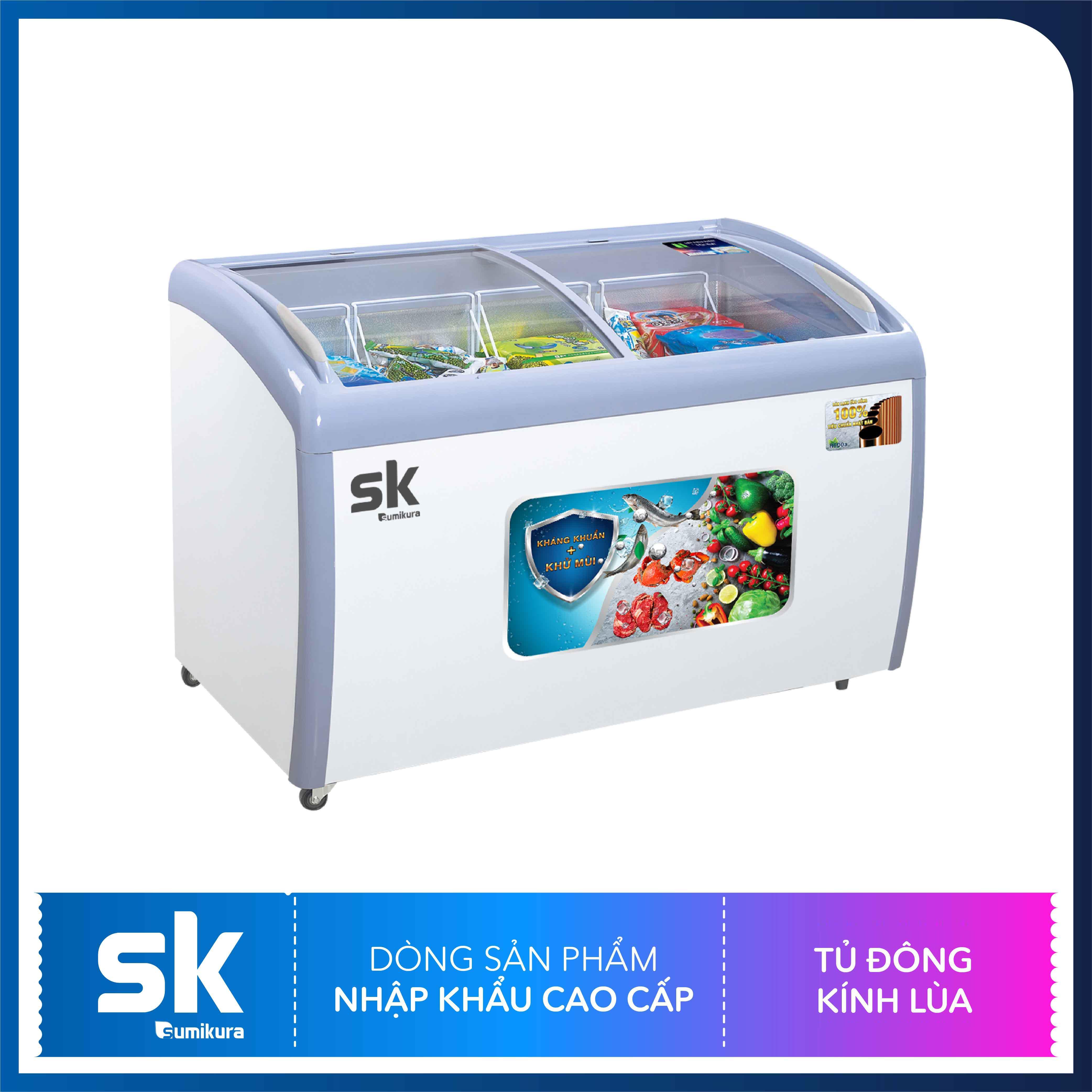 Bảng giá Tủ Đông Kính Lùa 300 Lít SKFS-300C Sumikura Điện máy Pico