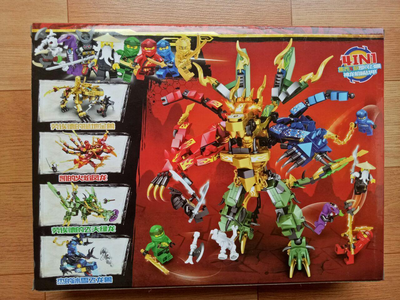Giảm Giá Ưu Đãi Khi Mua Lego Ninja Master Rồng Và Robot 68093