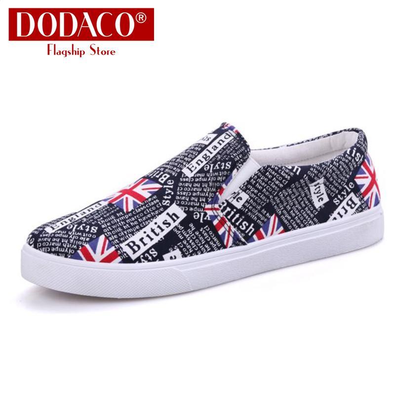 Giày Mọi Nam Đế Bằng Lười Rẻ Đẹp 2019 DODACO LVS0007
