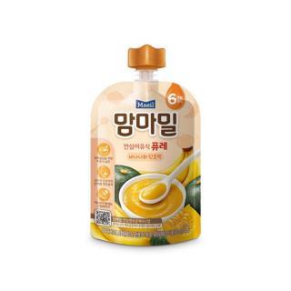 Cháo ăn dặm Mam ma Mael nhập khẩu Hàn Quốc Chuối và Bí Ngô nghiền cho bé từ 6M thumbnail
