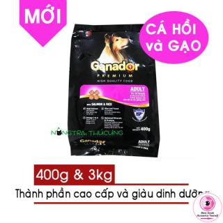[Sản Phẩm Mới] Thức ăn hạt cho chó lớn GANADOR Cá Hồi & Gạo (Salmon & Rice) thumbnail