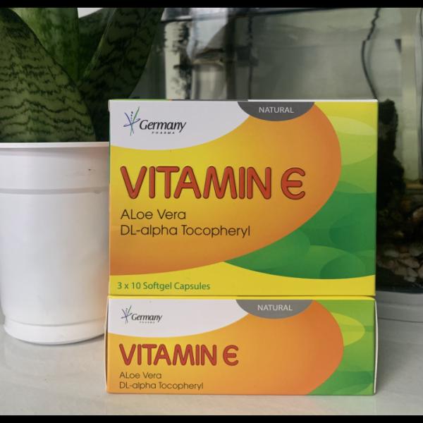 (Chính hãng) Bổ sung vitamin e đẹp da chống lão hoá da hộp 30v, sản phẩm chất lượng, đảm bảo an toàn sức khỏe người sử dụng, cam kết hàng giống hình giá rẻ