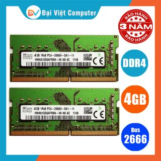 Ram laptop DDR4 4GB bus 2666 MHz ( nhiều hãng)samsung hynix kingston micron, crucial - LTR4 4GB thumbnail