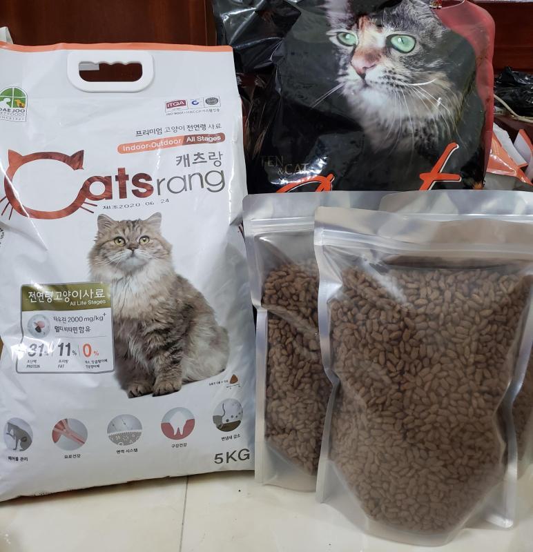 Catsrang - Hạt thức ăn cho mèo
