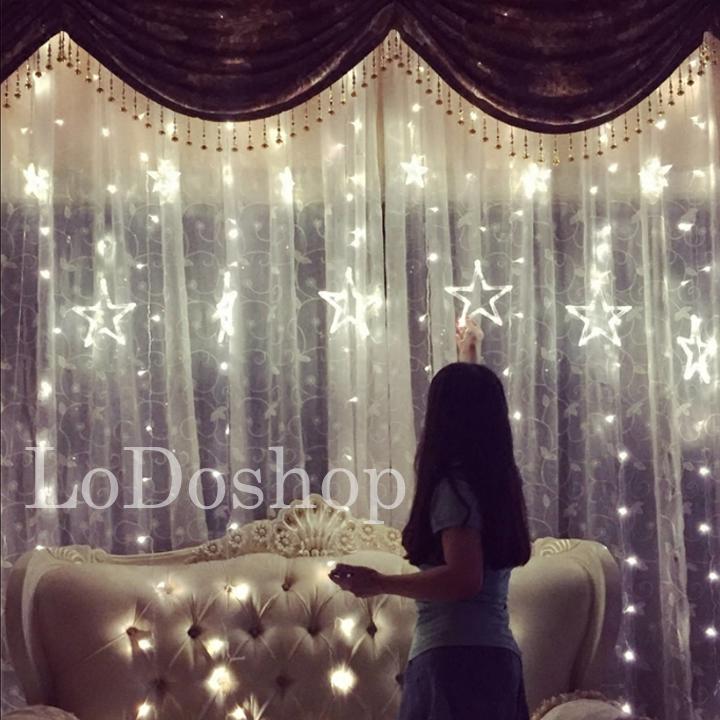 Đèn led trang trí hình ngôi sao dây 3 mét - Đèn led dây trang trí sinh nhật - Dây đèn led đom đóm dùng điện - Đèn trang trí nhà cửa - phụ kiện trang trí noel - Trang trí đám cưới - Đèn trang trí phòng – Lễ hội, hội nghị, tiệc cưới