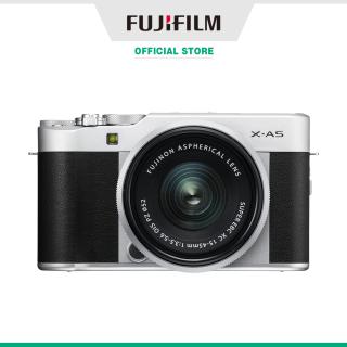 Máy ảnh kỹ thuật số Fujifilm X-A5 XC15-45 (Nâu Bạc Bạc đậm Hồng) thumbnail