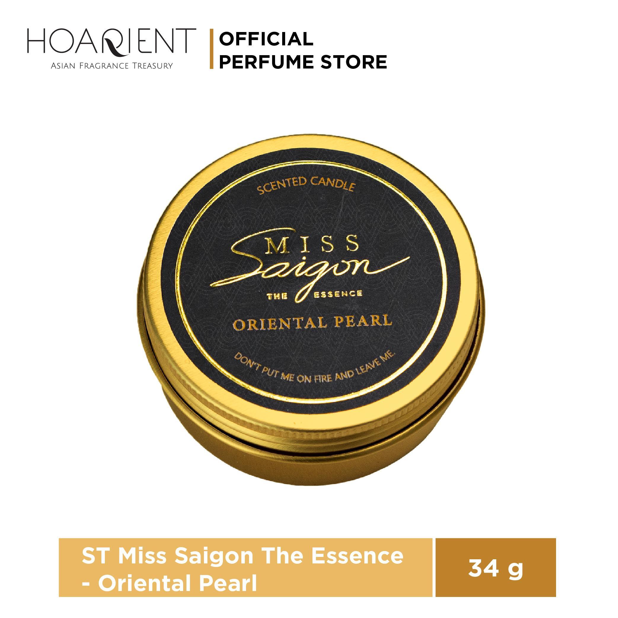 Nến Thơm Miss Saigon The Essence Oriental Pearl 34g