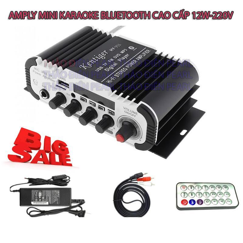 Amply công suất lớn, Ampli hát tại nhà, Amply hát karaoke gia đình. Amly giá rẻ, Amply Mini Karaoke Kentiger Bluetooth - Âm Thanh Đỉnh Cao, Thỏa Sức Ca Hát. Bảo Hành 1 đổi 1 bởi TĐP Nhật Bản