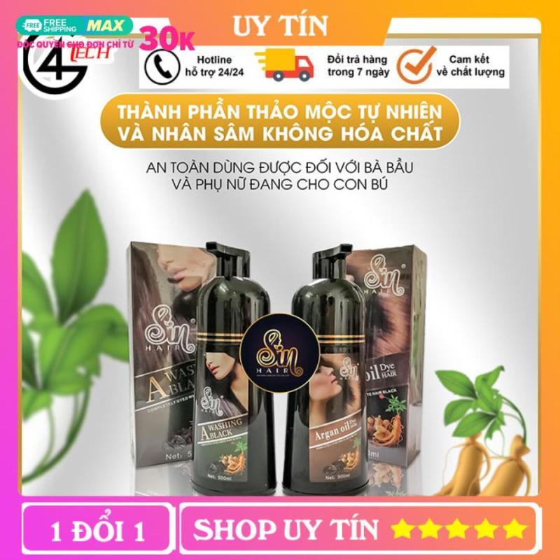 Dầu gội phủ bạc nhân sâm , giúp cải thiện tóc hư tổn và gội cực kỳ thơm, không hại da tay mà tóc vẫn mềm! Đặc biệt là không gây dị ứng, ngứa dát.- ZZ124 giá rẻ