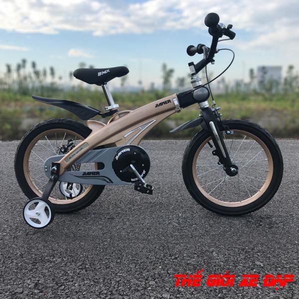 Giá bán Xe đạp trẻ em cho bé từ 5 đến 11 tuổi JIANER S1 cỡ 16 inch khung hợp kim magie có thể kéo dài