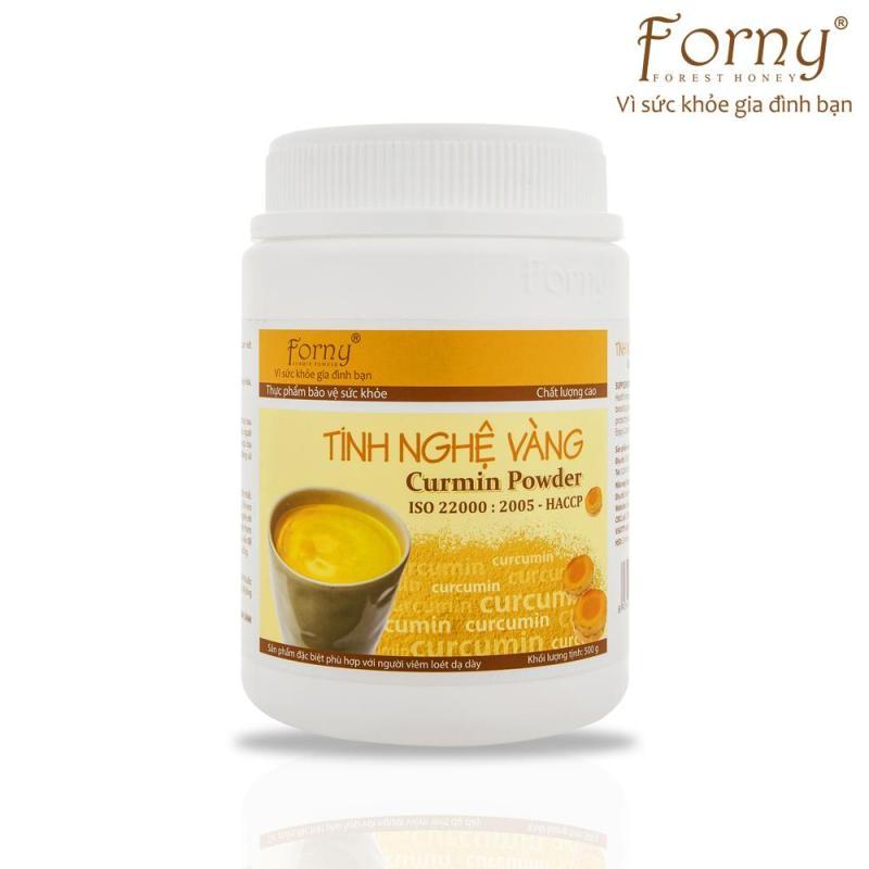 Tinh nghệ vàng Forny Hũ (Hộp) 500g DP(dành cho người đau dạ dày, làm đẹp, bồi bổ sức khỏe, phụ nữ sau sinh) (Tinh bột nghệ) (Tinh bột nghệ nguyên chất)