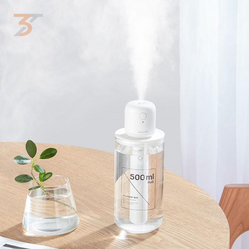 Máy phun sương tạo ẩm mini chính hãng Jisulife, kết hợp cùng hương thơm tinh dầu giúp căn phòng của bạn luôn tràn đầy mùi thơm, thiết kế độc đáo rất dễ dàng sử dụng mói lúc mọi nơi, bảo hành 12 tháng