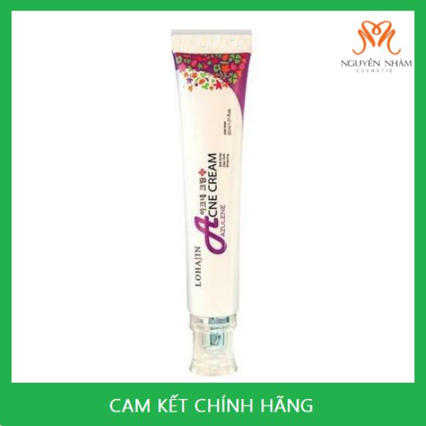 Kem Mụn Lohajin Azulene Acne Cream Hàn Quốc cao cấp