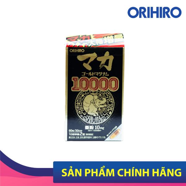 Viên uống hỗ trợ tăng cường sinh lý nam nữ Orihiro Maca Gold Magnum 10000 Orihiro 90 viên cao cấp