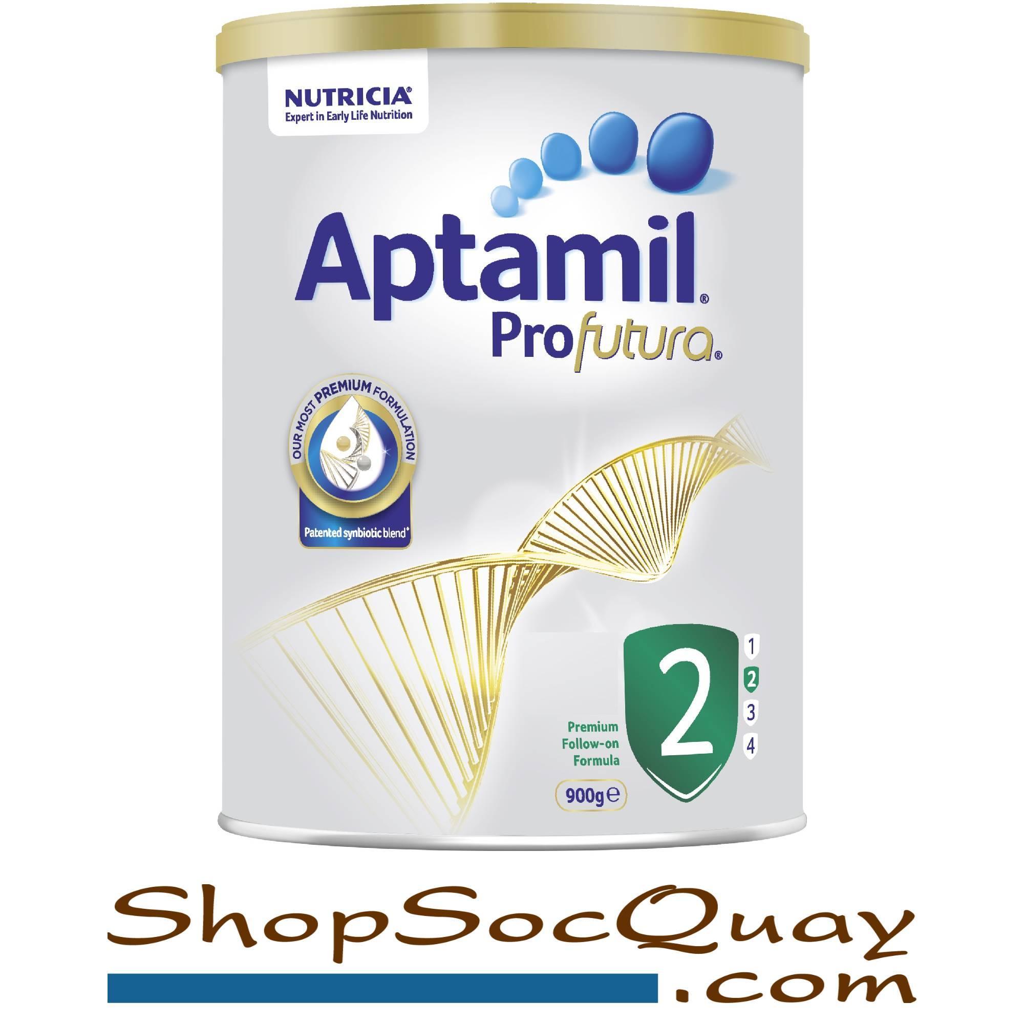 Sữa Aptamil Profutura Úc số 2 hộp 900g