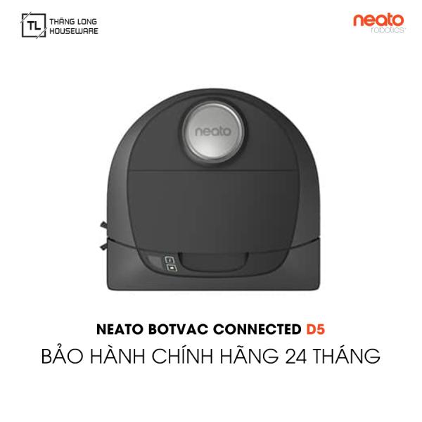 Robot hút bụi Neato Botvac D5 Connected - Hàng chính hãng Bảo hành 24 tháng 1 đổi 1