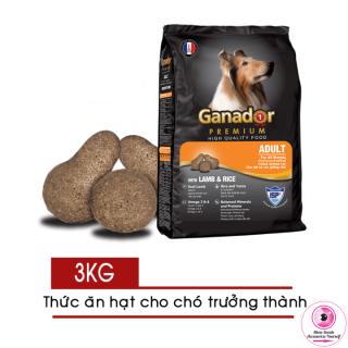 Thức ăn hạt cho Chó Lớn Ganador Adult 3kg - Vị Cừu và Gạo thumbnail