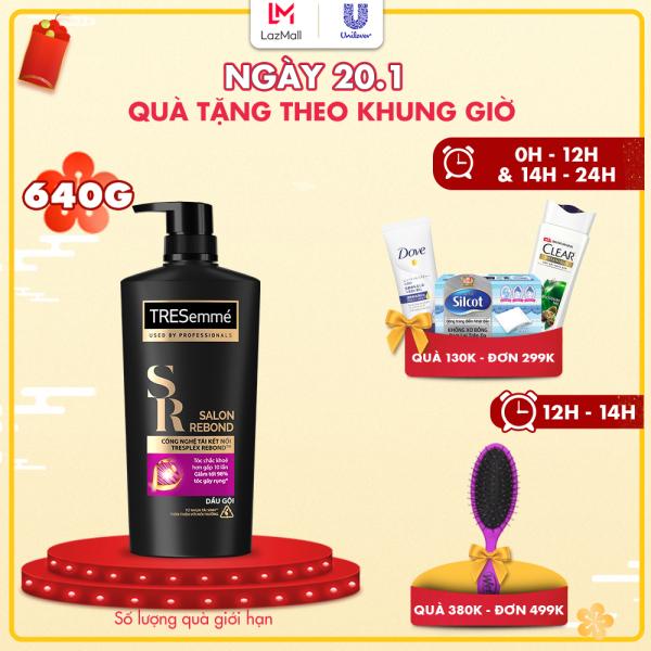 Dầu Gội Tresemmé Salon Rebond Công Nghệ Tái Kết Nối Ngăn Ngừa Gãy Rụng 640gr giá rẻ