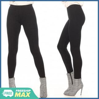 Quần Legging Nữ Bosimaz MS011, quần nâng mông, quần thun ôm nữ cao cấp dài màu đen, trơn không túi, lưng thun dày chắc chắn, thun co giản 4 chiều, vải đẹp mềm mịn, thoáng mát không xù lông. thumbnail