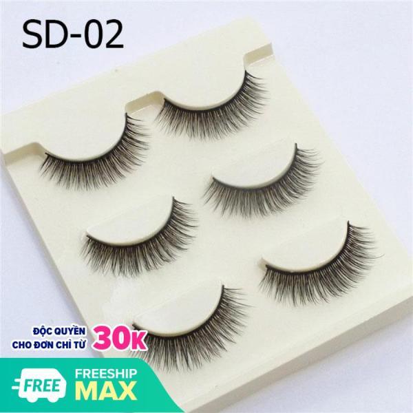 Mi Giả Lông Chồn 3D (Hộp 3 cặp) SD-02 giá rẻ
