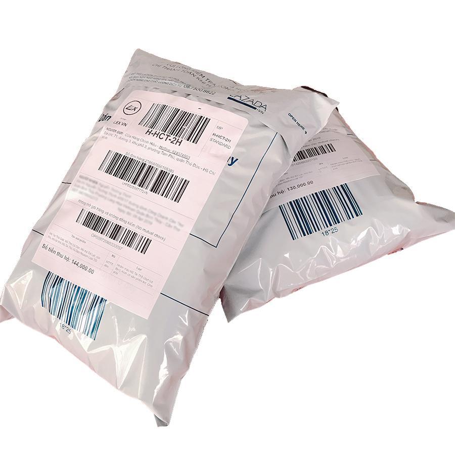 [COMBO 100 tem 92x157mm] Nhãn decal in tem vận chuyển máy in LASER - Giấy decal in tem nhãn mã vạch khổ giấy A5 (2 tem 1 tờ)