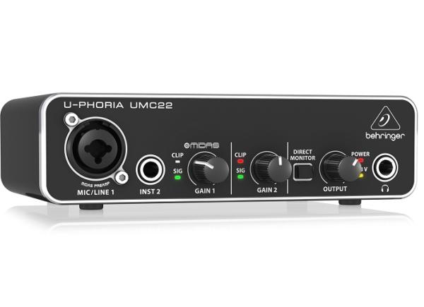 Bảng giá Sound card Behringer UMC22 Phong Vũ
