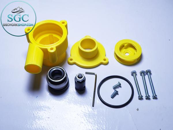 Trọn Bộ Tự Ráp Máy Bơm Nước Mini V2 - Siêu Mạnh - Motor 775 12V 150W