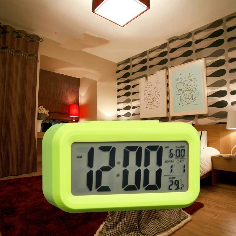 Nơi bán Âm thanh báo thức, Cai dat dong ho bao thuc, Đồng hồ báo thức lcd alarm clock - Đồng Hồ LCD Để Bàn HD51 - HL1010 Tạo Nên Không Gian Tinh Tế Cho Ngôi Nhà Của Bạn - Mã BH 2