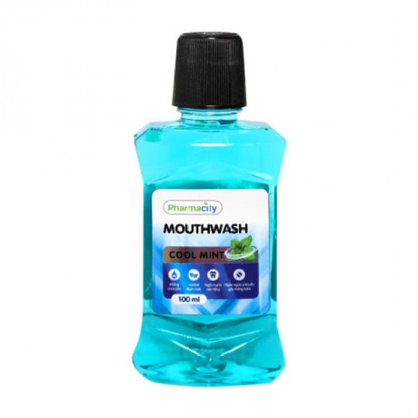 PHARMACITY MOUTHWASH COOL MINT (100ml) giá rẻ