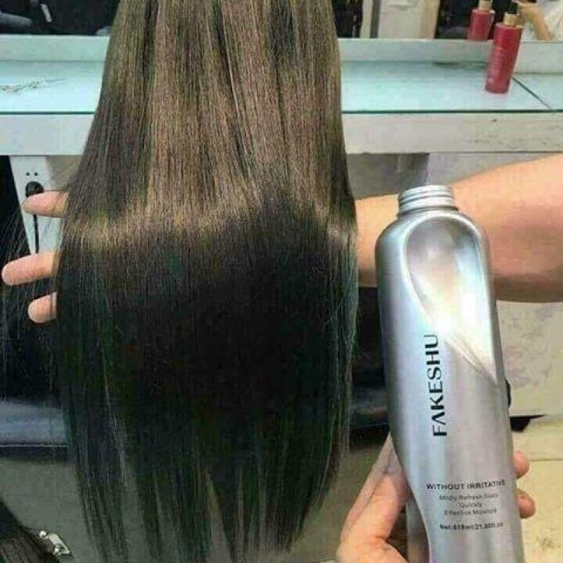 Kem Ủ tóc  phục hồi tơ tằm, mềm mượt tóc Fakeshu (Khối lượng 618ml) cao cấp