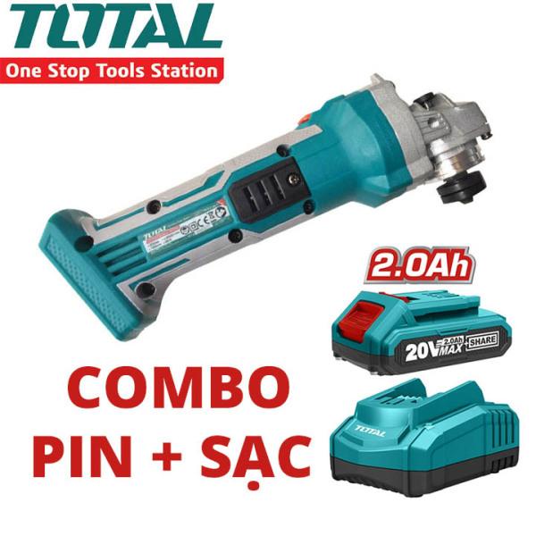 Máy Mài Góc Dùng Pin Lithium 20V TOTAL TAGLI1001
