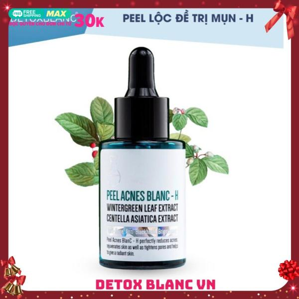 Serum pell acnes blanc detox blanc-H loại bỏ mụn tận gốc mụn giá rẻ