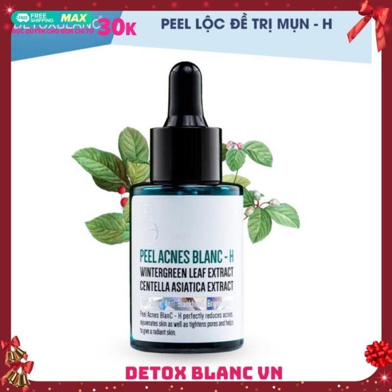 Serum pell acnes blanc detox blanc-H loại bỏ mụn tận gốc mụn nhập khẩu