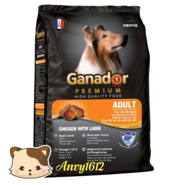 [HCM]400g Ganador Adult vị cừu - Thức ăn cho chó trưởng thành vị thịt cừu và gạo