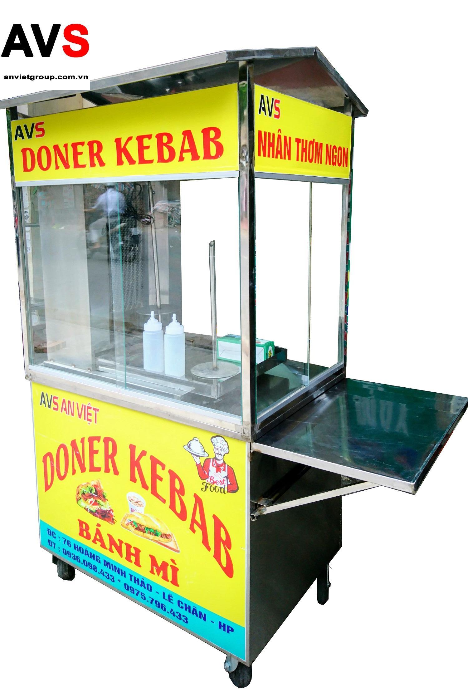 Xe nướng bánh mì Thổ Nhĩ Kỳ Doner Kebab BM90-2T An Việt