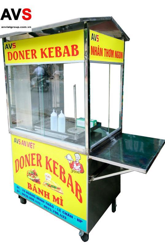 Bảng giá Xe nướng bánh mì Thổ Nhĩ Kỳ Doner Kebab BM90-2T An Việt Điện máy Pico