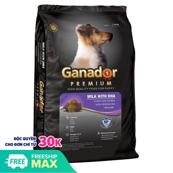 Hanapet-(gói 3kg) Thức ăn dạng hạt cao cấp GANADOR PUPY (dành cho chó dưới 1 năm tuổi)