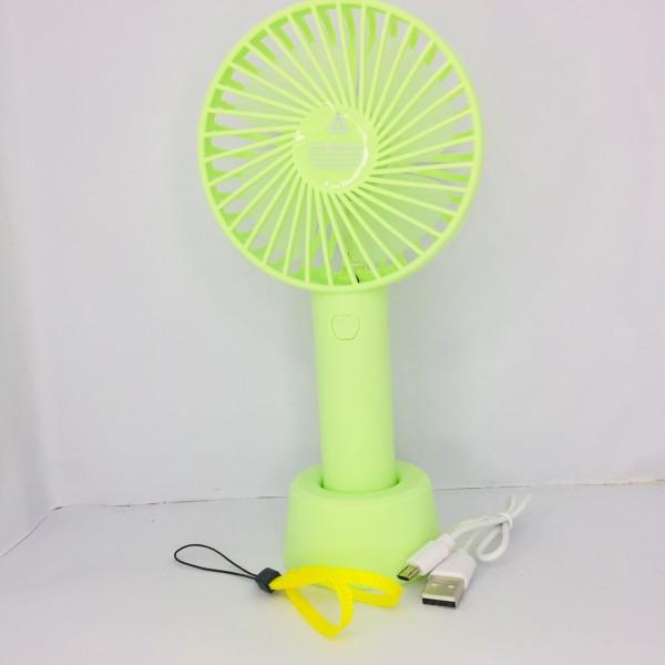 Quạt Mini cầm Tay Tích Điện 3 Chế Độ Gió Có Chân Đế [Hàng Chính Hãng] Quạt Sạc Tích Điện USB mini Fan - Kèm Pin Cáp sạc và Chân đế