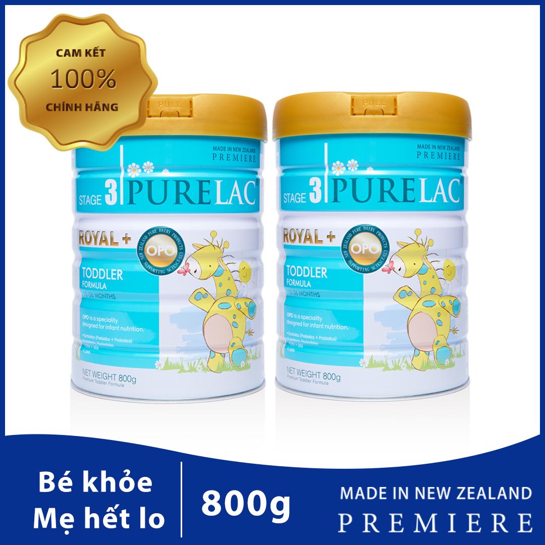 Combo 2 Sữa PureLac nhập khẩu New Zealand cho trẻ 12-36 tháng
