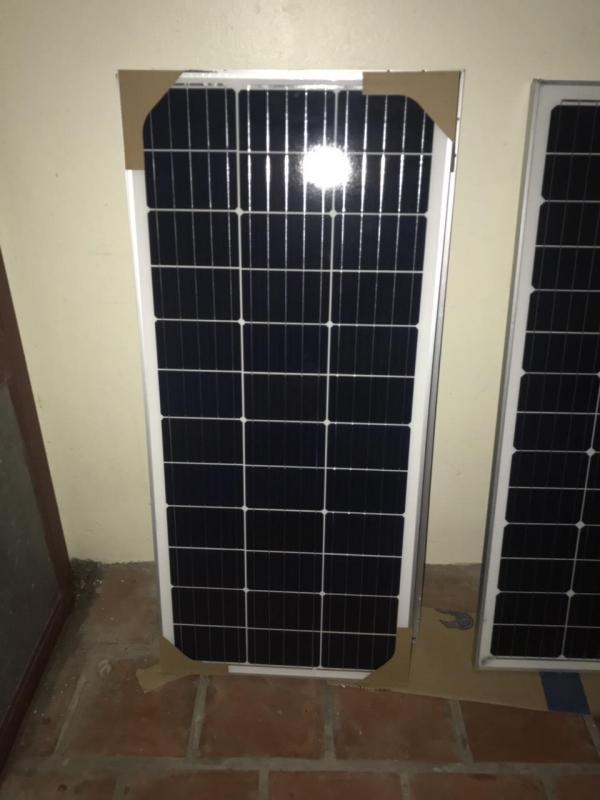 Pin mặt trời mono 100W