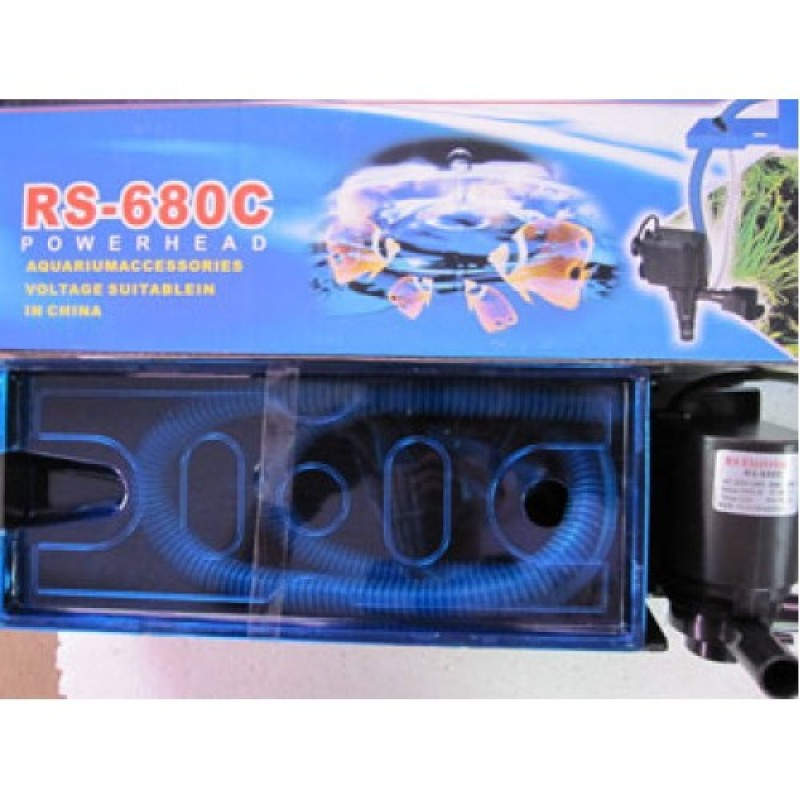 Máy lọc nước Hồ cá bể cá cảnh Electrical RS680C Tặng kèm 01 MIẾNG BÔNG LỌC NƯỚC