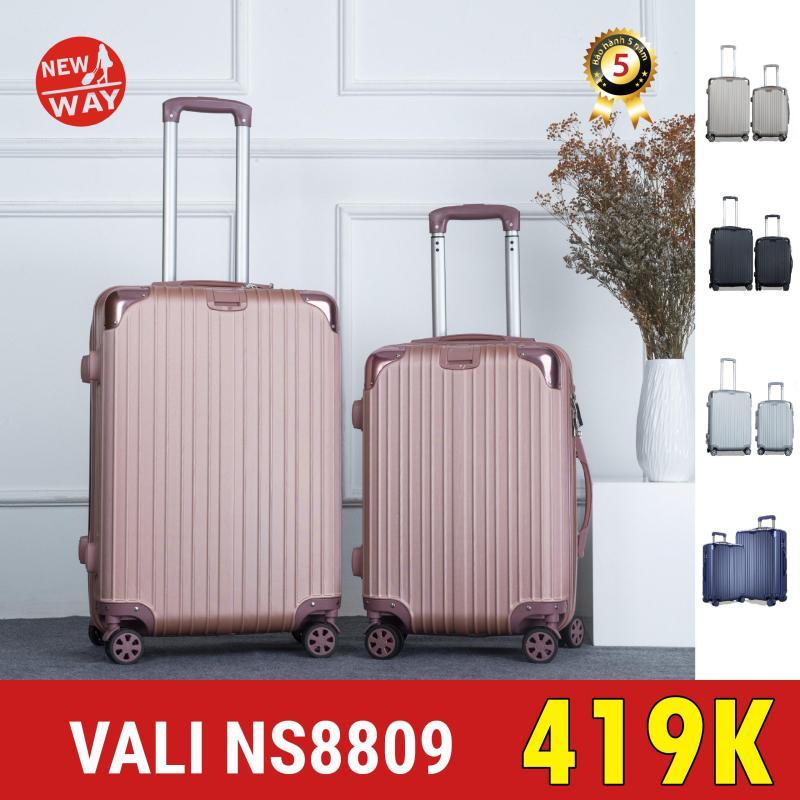 Vali NEWWAY NW8809 Size 20inch vali kéo vali du lịch vali XÁCH TAY LÊN MÁY BAY BỊT GÓC SIÊU BỀN CAO CẤP*-Gửi từ TPHCM--Hàng có sẵn
