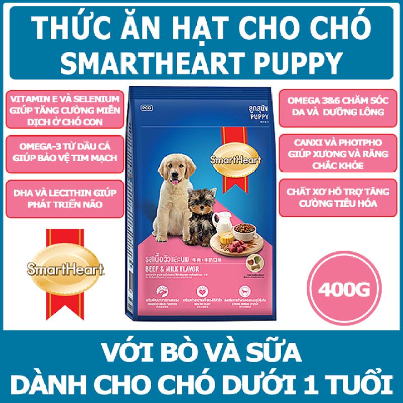 Thức ăn cho chó con Smartheart Puppy - Thái Lan - 400g
