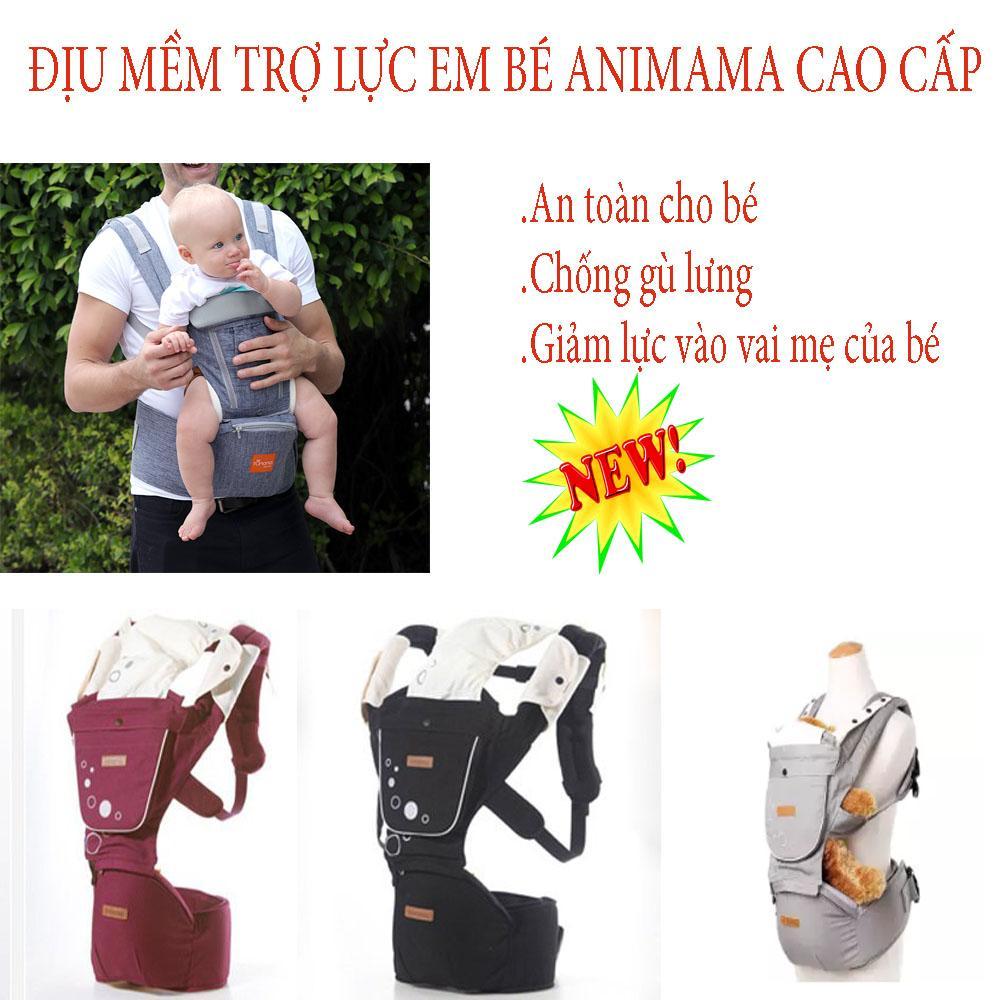 Tui diu em be, Mua địu em bé ở đâu hà nội, Địu mềm trợ lực Hàn Quốc  Aimama cao cấp,hỗ trợ bé ngồi đúng tư thế ,không ảnh hưởng đến cấu trúc xương của trẻ,dùng cho bé từ sơ sinh đến 36 tháng tuổi,BH 1 đổi 1,SALE 50%